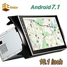 De cuatro núcleos Android 7.1 Doble 2din Car Stereo en Dash tableta de 10 pulgadas de unidad principal forfor Nissan con receptor RDS HD de pantalla Multi-Touch Ninguno-reproductor de DVD Autoradio Bluetooth FM AM 3D GPS Mapa cámara reversa