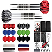 Red Dragon Ultimate Darts Collection Set with 2 Sets of Darts, Flights, Stems, Trident 180, Rings, Springs, Savers, Sharpener and Bottle Opener