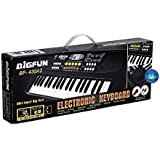 Fun Villa 37 Key Piano Keyboard Toy with USB Port & Dc Power Option, Recording, Mic with USB Port, Charger for Kids - 2018 Latest Model