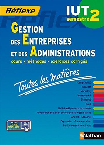 Toutes les matières IUT Gestion des entreprises et des administrations - Semestre 2 par Collectif