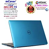 Aqua Cover Coque pour 15.6' Dell XPS 15 Modèle 9570/9560/9550/Precision 5510 Serie Ultrabook Portable (5510/9550/9560/9570)
