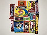 Amerikanische Kurious Kandy Box | American Sweets und Schokoriegel Geschenkbox Auswahl | Sortiment umfasst Reese, M & M, Nerds, Kegel, Jolly Rancher | Value Pack 18 Artikel in Süßigkeiten Box
