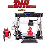 ZR-Printing A8-W5 3d Drucker DIY Holzrahmen Hohe Präzision LCD Bildschirm Desktop 3d Drucker Kit Mit 1.75mm ABS/PLA Filament, Bau Messung 220 * 220 * 240 mm
