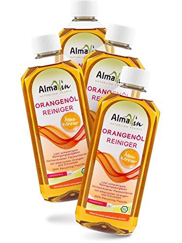 Almawin Orangenöl-Reiniger Konzentrat 4x 500ml