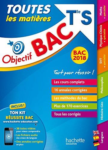 Objectif Bac 2018 - Toutes les matières Term S