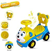 Dash Baby Toy Monkey Ride On , Baby car , Kids car , Toy car , Push Car with Musical Tunes Toy for 1 Year Old Baby (Blue…