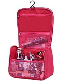 HOYOFO Portable Toiletry Bag Travel Bag Hanging Toiletries And Cosmetics Organizer