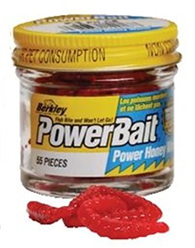 Berkley Power Bait Garlic Honey Worm Orange (Worm Honey Power)