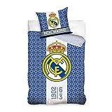 Real Madrid (RM162011) Juego Funda NÓRDICA Reversible 160 X 200 CM...