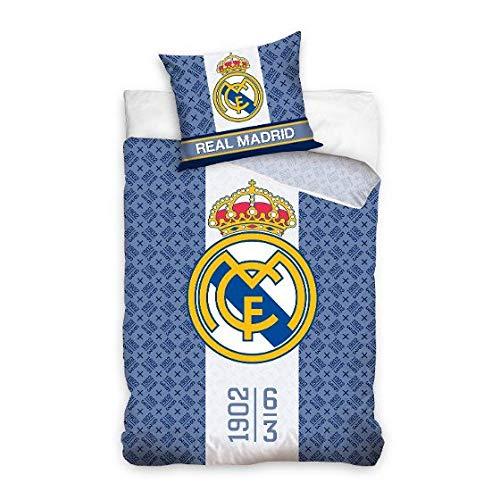 Real Madrid RM162011 Juego Funda NÓRDICA Reversible