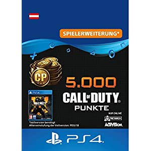 5.000 Call of Duty : Black Ops 4-Punkte – 5000 Points DLC | PS4/PS3 Download Code – österreichisches Konto