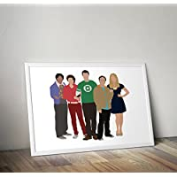 The Big Bang Theory Inspired sheldon cooper Poster Stampa regali - Poster TV/film alternativi in varie dimensioni (cornice non inclusa)