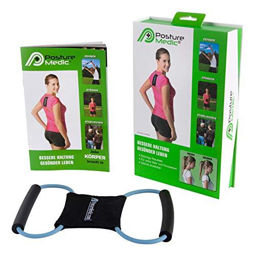 Posture Medic ORIGINAL 3in1 Rücken Geradehalter Haltungstrainer Bandage Größe PLUS L