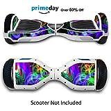 Pelle Per Hoverboard Elettrico Adesivi Hoverboard Stickers Cover Per...