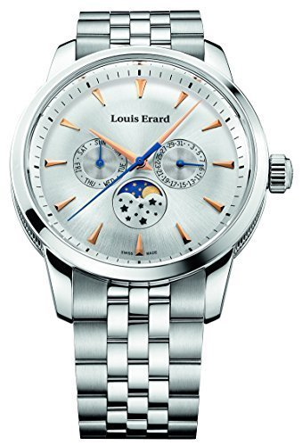 Louis Erard Heritage Collection Swiss Quartz Silver Dial Men's Watch 14910AA11.BMA38