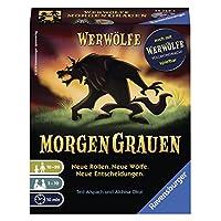 Ravensburger-26729-Werwlfe-MorgenGrauen-Familienspiel Ravensburger Kartenspiele 26729 – Werwölfe – MorgenGrauen -