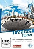 Context Starter - Allgemeine Ausgabe und Niedersachsen: Vorschläge zur Leistungsmessung: CD-Extra. CD-ROM und CD auf einem Datenträger