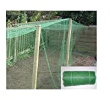 10M x 4M Garden Netting - Strong Fine Mesh (10mm) - Polypropolene: Crop & Vegetable Protection, Fruit Cages, Pond Protection, Many other uses. As used by proffesional nurseries