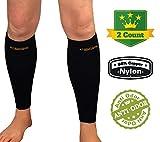 Kompressions-Wadenbandage Sleeve. Kupfer Fit Recovery Bein Kompression für Herren und