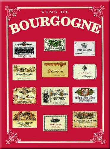 Cartexpo M138 Alimentation Poster Bourgogne Métal