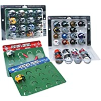 NFL Standings & Playoff Tracker mit 32 NFL Mini Helmen