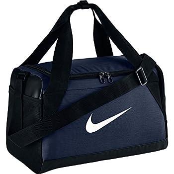 1599a3cae00c0 Nike Unisex – Erwachsene NK BRSLA XS DUFF Klassische Sporttaschen Midnight  Navy Black White Einheitsgröße