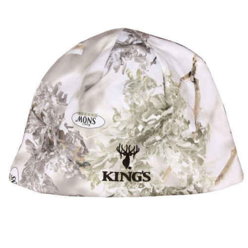 King's Camo KCG3003-SS Reversible Beanie, One Size, Snow Shadow/White by King's Camo (Reversible Camo Beanie)