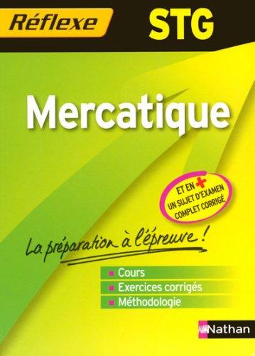MERCATIQUE REF STG MEMO
