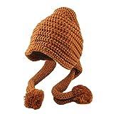 Kind Stricken Hut, Mütze Haarballen Deckel, Quaan Mädchen Junge Baby Säugling Winter Häkeln