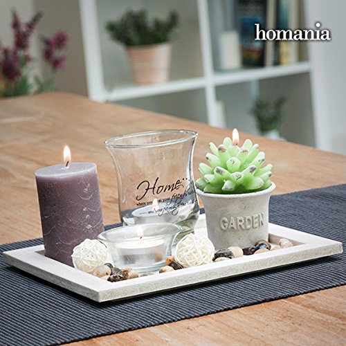 Centre de Table Candles & Garden Homania