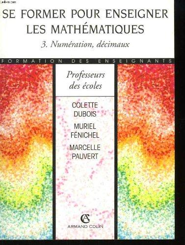 SE FORMER ENSEIGNER MATH T3    (Ancienne Edition)