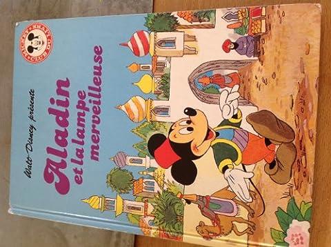 Livre Disney Club Du Livre - Aladin et la lampe merveilleuse (Mickey club