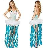 Gorgeous Siamesische Halloween-Kostüm -Ballettröckchen- Meerjungfrau Prinzessin Meerjungfrauenkleid Diskothek Stadiumsleistungskleidung Kleidung