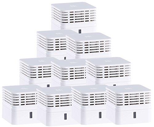 Rauch-detektor (VisorTech Mini-Brandmelder: Fotoelektrischer Mini-Rauchwarnmelder RWM-500.mini, 10er-Set (Mini-Rauch-Detektor))