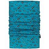 maximo Signs Kids Multifunktionstuch Bandana Halstuch Stirnband Schal Gesichtsschutz (One Size - blau)
