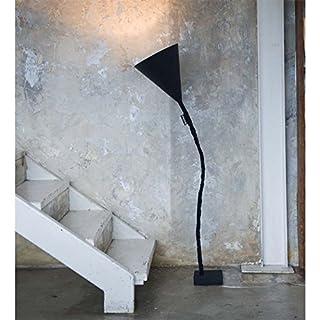 In-es.artdesign Flower Lavagna,floor lamp, E14, black/white