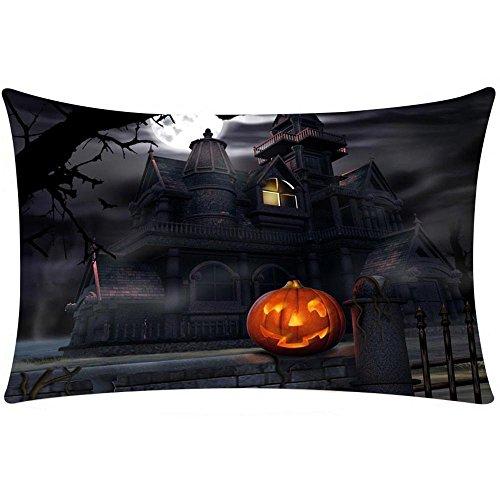 VEMOW Halloween Kissen Home Party Dekoration Abdeckung Decor Kissen Fall Sofa Taille Wurf Kissenbezug Home Decor Rechteck 19.7