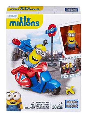 Minions - Escenarios divertidos de la película, juego de construcción (Mattel CNF50)