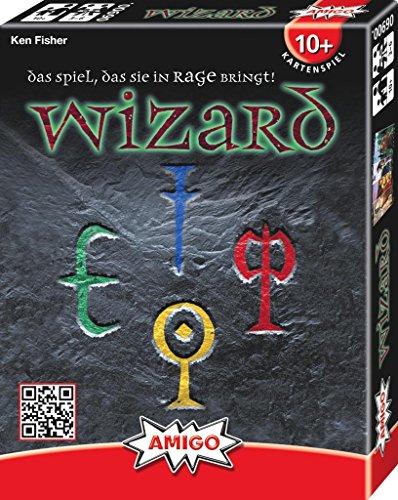 Preisvergleich Produktbild Amigo 6900 - Wizard, Kartenspiel