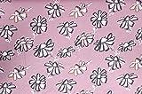 Lillestoff Daisy Blümchen Gänseblumen ROSA Modal Jersey