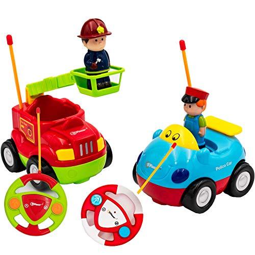 Top Race RC Cartoon Cars Toy