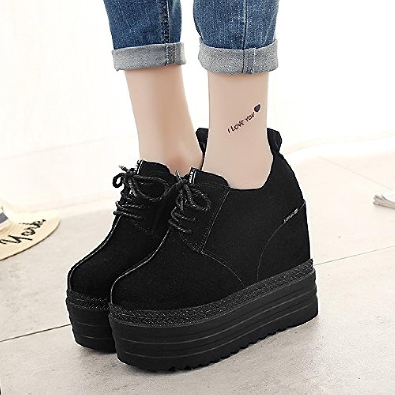 kphy l'automne et l'hiver la la la nouvelle plate forme de chaussures à talons haut chaussures chaussures a augHommes té dans les souliers de la marée.b078bprnnb parent 18ff00
