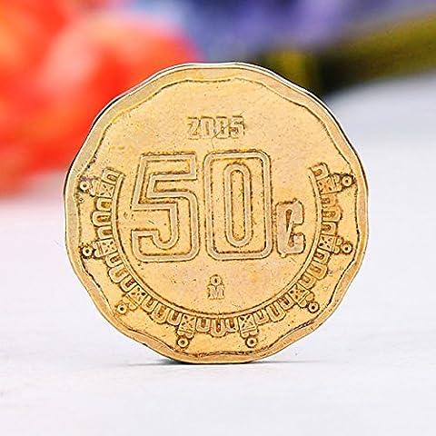 Bluelover 10pz miscelati collezione di monete fior di conio di