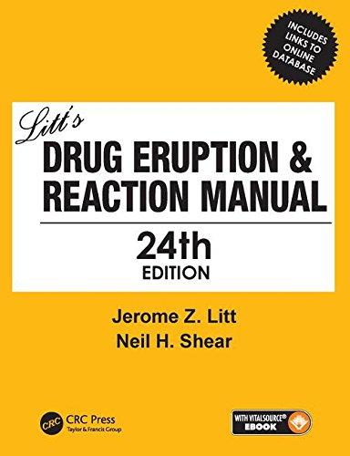 Litt's Drug Eruption & Reaction Manual 24E
