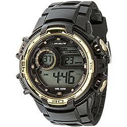 UPhasE Quartz Watch with White Dial Analogue-Digital Quartz Chronograph, 705-200 up