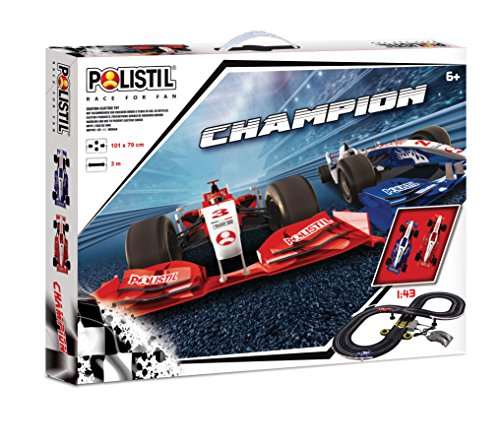 Polistil 960178 - Pista Champion, Nero
