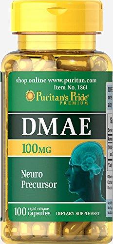 Puritan's Pride DMAE 100 mg-100 Capsules