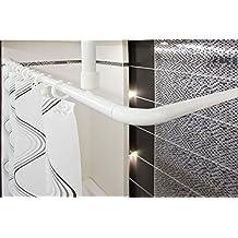 suchergebnis auf f r duschvorhangstange badewanne u form. Black Bedroom Furniture Sets. Home Design Ideas