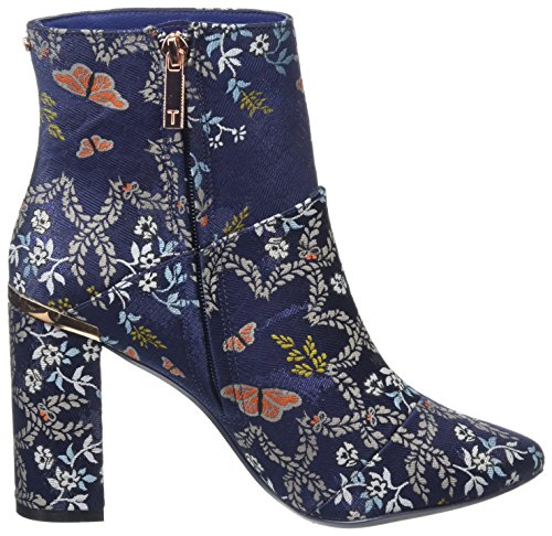 Ted Baker Ladies Ishbel Boots Blue (blu)