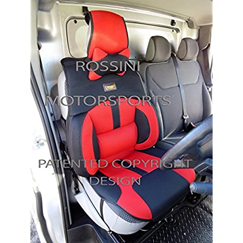 Renault Trafic van fundas de asiento Bo 2Rossini Deportivo Malla Rojo 1asiento del conductor cubierta sólo